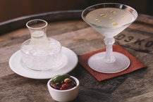 THE ULTIMATE DIRTY MARTINI